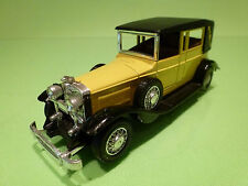 GUISVAL LINCOLN MODEL L 1929 - YELLOW + BLACK 1:43 - EXCELLENT  CONDITION