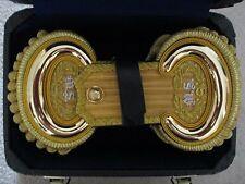 Civil War Medical Service (Major)  Embroidered Shoulder Epaulets w/Case