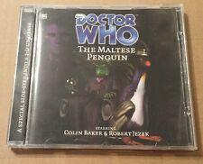 Doctor Who - The Maltese Penguin Audio Book Cd Colin Baker Robert Jezek