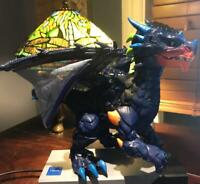 WowWee 3956 Untamed Legends Dragon - Vulcan Interactive Toy - Dark Blue