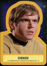 Star Trek TOS 40th Anniversary Series 2 Star Trek Stickers Chase Card S7