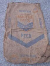 Vintage Master Mix Feed Trigo Master MIx burlap sack