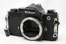 Nikon FM SLR Film Camera Body Only *Working* #W017g