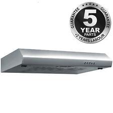 SIA ST60SS 60cm Visor Cooker Hood Kitchen Extractor Fan in Stainless Steel