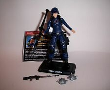 GI Joe 50th Cobra Officer loose Figure Cobra Legion 2016 Female