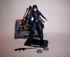 GI Joe 50th Cobra Officer loose Figure Cobra Legion 2016 Female