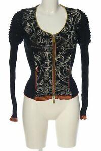 EVA & CLAUDI Strickjacke Damen Gr. DE 36 schwarz Strickbekleidung Knitwear
