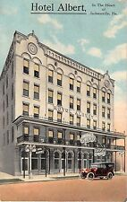 c.1910 Hotel Albert Jacksonville FL post card