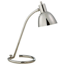 New Thomas O'Brien Tico Task Table Lamp Polished Nickel