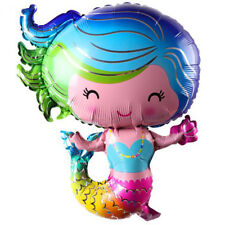 1pc Mermaid balloons Birthday Party Decor Kids Wedding Christmas Supplies Hb Tb