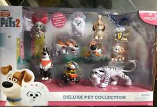 The Secret Life Of Pets 2 - Deluxe Pet Collection 10 Figure Playset Snowball Max