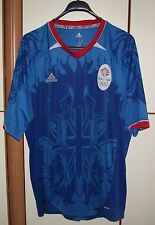 GREAT BRITAIN NATIONAL TEAM 2012 HOME FOOTBALL SHIRT JERSEY ADIDAS