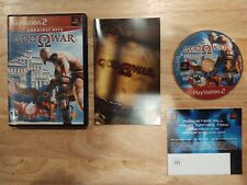 God of War Greatest Hits (Sony PlayStation 2 PS2 2005) Complete & Tested
