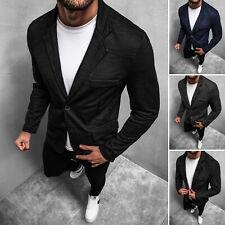 Sakko Klassische Business Jackett Blazer Jacke Anzug Herren OZONEE 14734 MIX
