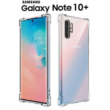 Funda Gel TPU Transparente Antigolpes para Samsung Galaxy Note 10 Plus
