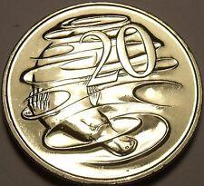 Unc Australia 1996 20 Cents~Duckbill Platypus~Elizabeth II~Free Shipping