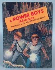 A Power Boys Adventure Mystery Of The Million Dollar Penny Mel Lyle Whitman VG
