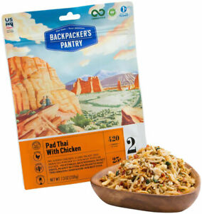 Backpacker's Pantry Pad Thai with Chicken: 2 Servings