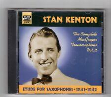 (IM280) Stan Kenton, Etude For Saxophones 1941-1942 - 2001 CD