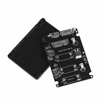 "Mini PCI-e mSATA to 2.5"" SATA Adapter Card Enclosure PC SSD Hard Drive Converter"