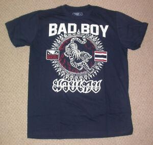 BAD BOY MMA SHIRT LARGE L ,, UFC KSW JIU JITSU BJJ MUAY THAI KICK BOXING GYM NEW