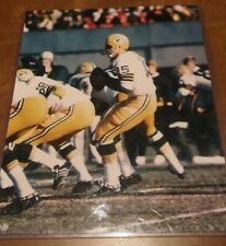 Green Bay Packers Bart Starr 8X10 laminated Picture