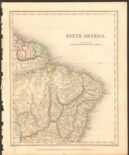 Guyana Antique South America Atlas Maps | eBay