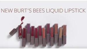 Burt's Bees Liquid Lipstick ~ Choose From 18 SEALED Shades