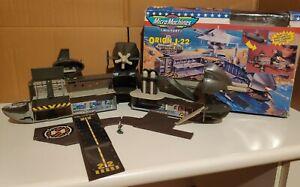 Micro Machines Galoob playset Military Battle Zones Orion J-22 Submarine box