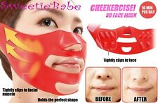 CHEEKERCISE 3D Face Mask Motto Houreisen Expander Anti-Aging Beauty Mask Slimmer