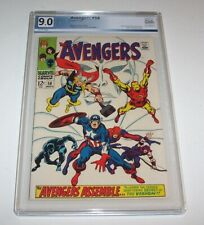 Avengers #58 - Marvel 1968 Silver Age Issue - VF/NM 9.0 - Origin of the Vision