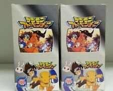 LOT of 6 Digimon Digital Monsters Japanese Box Trading Card Unopened Packs Box