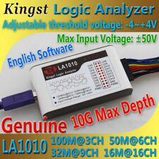 Kingst  LA1010 USB  Logic Analyzer    100M max sample rate,16Channels,10B