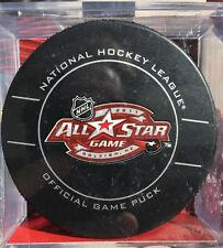 2011 NHL ALL-STAR GAME CAROLINA OFFICIAL SEALED GAME PUCK