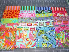 Set  9 x11~ TABBY ROAD Cat  Tula Pink Cotton Quilt Fabric~Animal Free Spirit