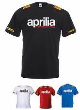 MAGLIETTA T-SHIRT APRILIA RACING RSV4 # BE A RACER FACTORY RACING COD108