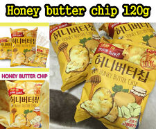 Honey Butter Chip 120g Korean Popular Potato Snack-1Pcs