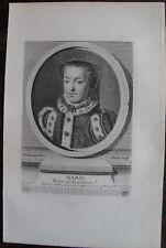 MARIE, REINE D'ANGLETERRE, (1516-1558), PORTRAIT, 1760