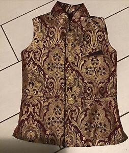 Indian Pakistani Boys Salwar kameez Koti Jacket waistcoat  4 years