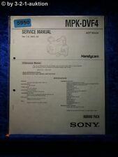 Sony Service Manual MPK DVF4 Marine Pack (#5950)