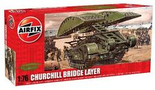 AIRFIX 1:76 KIT DI MONTAGGIO CARRO CHURCHILL BRIDGE LAYER  ART 04301 SERIE 4
