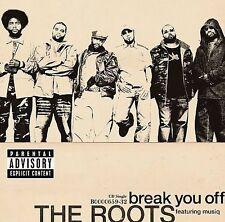FREE US SHIP. on ANY 2 CDs! NEW CD The Roots: Break You Off Single