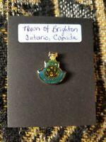 Souvenir Pin - Town of Brighton Ontario Canada