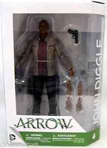 ARROW TV Series CW DC Comics John Diggle David Ramsey Action Figure