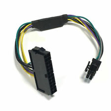 ATX 24to 8pin Power Supply Cable For DELL Optiplex 3020 7020 9020 T1700 Adapter