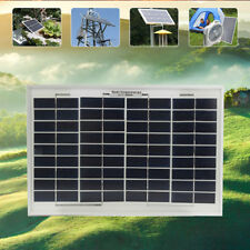 10W 12V polyCrystalline Solar Panel Cells Module Poly Power Battery Charger