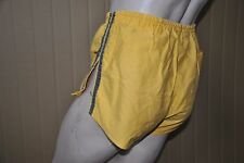 Sporthose SPRINTER sport Shorts gelb TRUE VINTAGE yellow fitness running Trunks