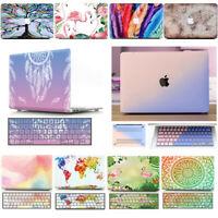 Hard Protective Case + Keyboard Skin for Macbook Air 13 A1369 A1466 A1932 Touch