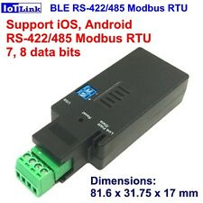 BT for iOS RS485 BLE V4.2 modbus RTU serial converter,RS485 Bluetooth BLE serial