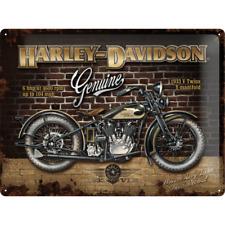 Nostalgic Art Tin Sign Harley-Davidson Motorcycle  30 x 40 cm
